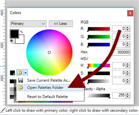 color palettes go here page 5 paint net discussion and