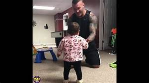 Randy Orton Playing With his Daughter Brooklyn Rose - YouTube