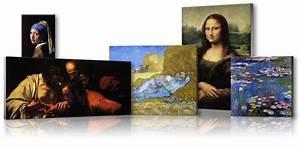 Tableau Peinture Sur Toile : reproduction de tableau et de peinture sur toile ~ Teatrodelosmanantiales.com Idées de Décoration