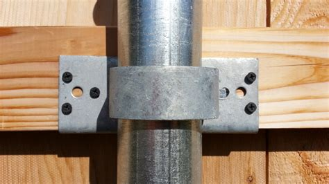 Most Intimacy And Security Of Wood Fence Brackets