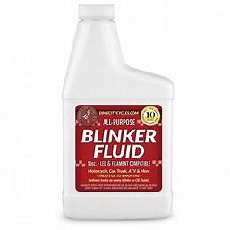 Image result for pics Of Blinker Fluid