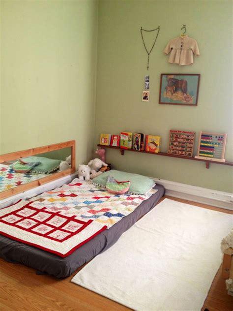floor ls next to bed 15 safe and cozy kids floor bed ideas decorazilla design