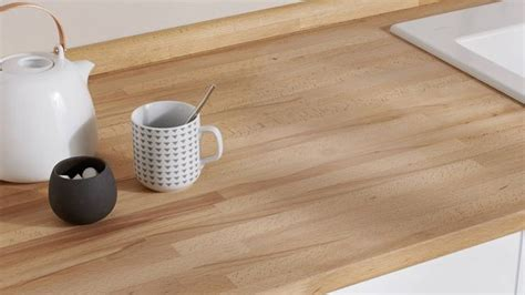 plan de travail hetre plan de travail en bois choix et entretien c 244 t 233 maison
