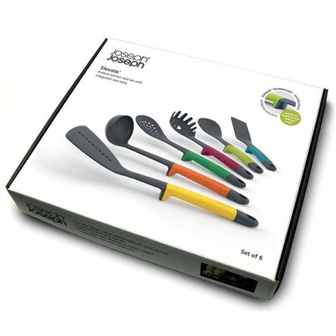 ustensile de cuisine joseph joseph elevate 6 kitchen tool set from