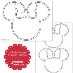 Minnie Mouse Pumpkin Carving Stencil Free by Printable Minnie Mouse Pumpkin Stencils Printable Treats Com