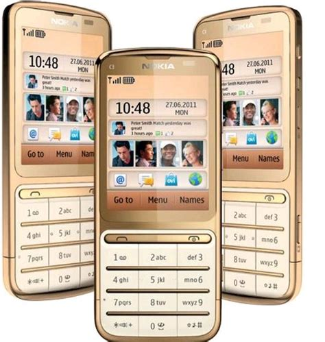 Nokia C3-01 Gold Edition Features, Specifications, Details