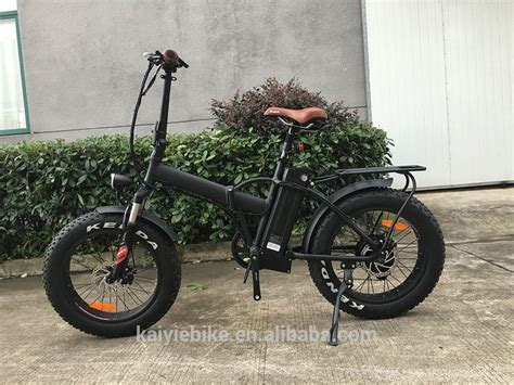 20' Hot Sales Cruiser Folded Fat Tire 48v500w Suspention