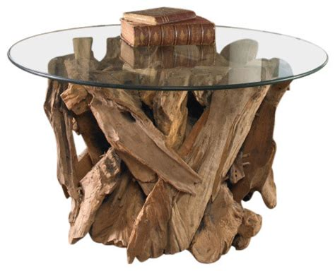 Uttermost Glass Coffee Tables by Shop Houzz Uttermost Uttermost Driftwood Glass Top