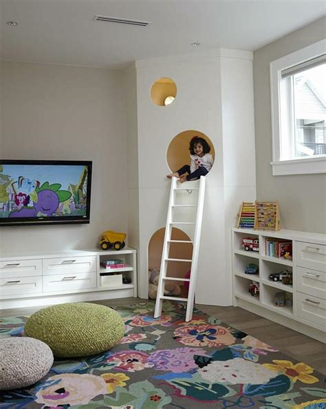 coin chambre déco chambre enfant des cachettes et des aires de jeux