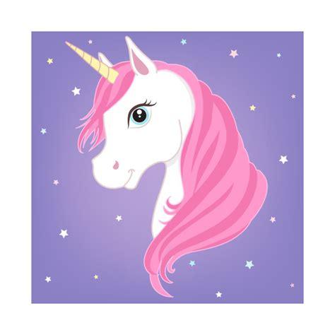 Pink Unicorn Purple Background Unicorns T Shirt