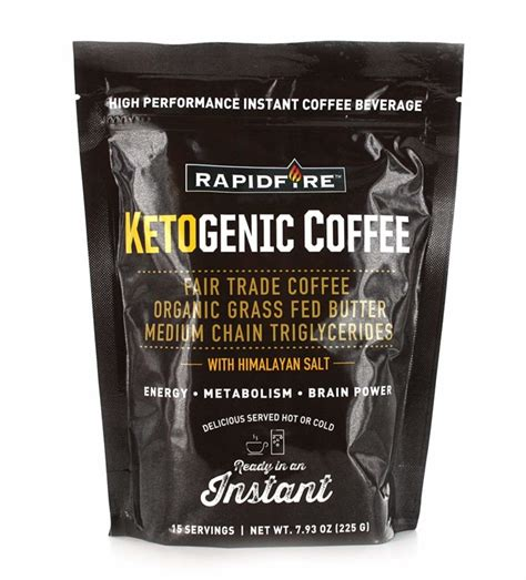 While you can buy or make keto coffee with added butter, ghee, mct oil and so forth, you can also use keto coffee creamer to make your morning beverage. Rapid Fire Ketogenic Coffee Review - Daily Life Guide