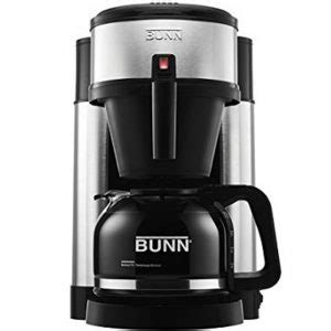 It can heat a minimum of 4 cups and up to 10 in. BUNN NHS Velocity Brew 10 Cup Home Coffee Maker Review 2020 - Beaniecoffee.com
