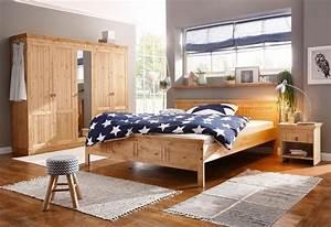 Bett Und Schrank : home affaire schlafzimmer set indra 4 teiliges set bestehend aus 180er bett 5 trg schrank ~ Markanthonyermac.com Haus und Dekorationen