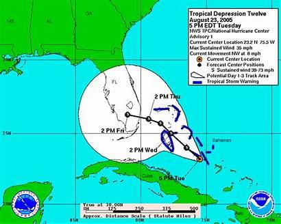 Katrina Hurricane Florida Debris Track 2005 Cone