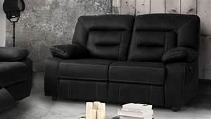 Canape de relaxation moderne 2 places electrique adana for Tapis de couloir avec canapé 2 places relax électrique tissu