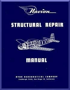 Ryan Navion Airplane Structural Repair Manual