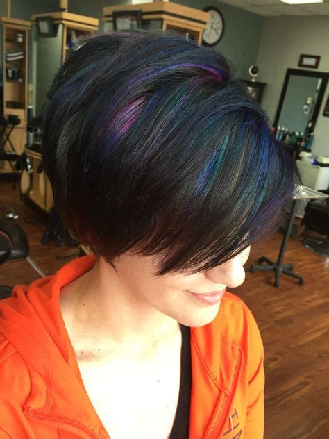 oil slick hair  epic  rainbow hair technique