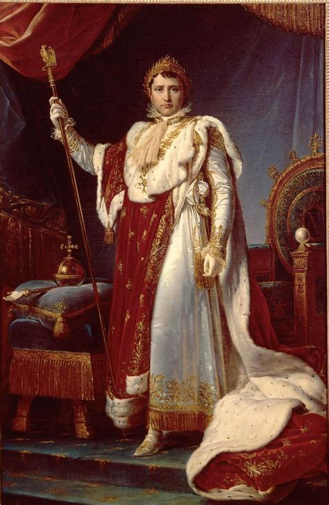 Gros plan sur « Napoléon Ier en costume de sacre » de