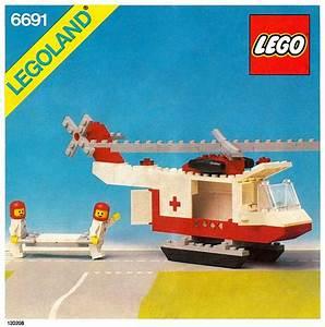 6691 1 Red Cross Helicopter Brickset LEGO Set Guide