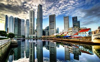 Skyscrapers Skylines Wallpapers Architecture Updated Views Artwallpaperhi