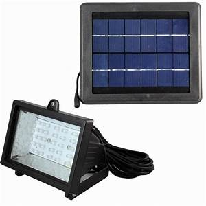 Solar powered flood lights maerex led