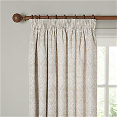 pencil pleat ready made curtains voiles john lewis