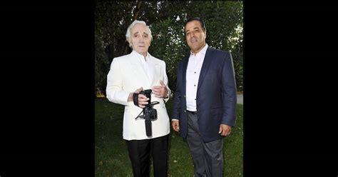 soiree au patio de camargue charles aznavour et chico lors de la soir 233 e de solidarit 233 chico les gypsies au patio de