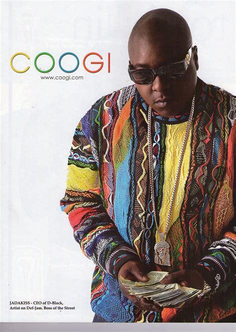 notorious big sweater coogi disco 90s