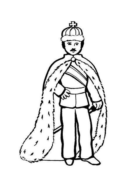 king coloring pages    print