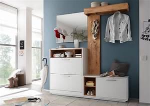Garderobe Online Kaufen : milano von first look garderobe in wei wildeiche garderoben sets online kaufen ~ Frokenaadalensverden.com Haus und Dekorationen