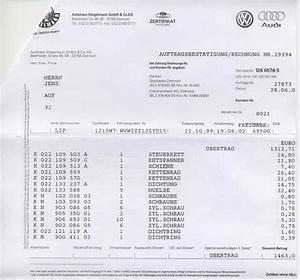 Audi Bkk Rechnung Einreichen : 20020628 stegelmann rechnung 03 ~ Themetempest.com Abrechnung