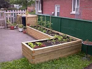 Bac Potager Pas Cher : idee jardin en hauteur ~ Melissatoandfro.com Idées de Décoration