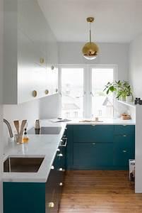 Küche L Form Ikea : ente blaue k che und holz um in ein gef hl von dynamik und adel einzutauchen desing interieur ~ Yasmunasinghe.com Haus und Dekorationen