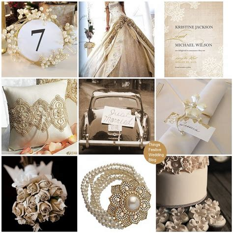 vintage wedding theme vintage lace and pearls things