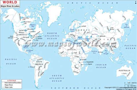 world river map world maps pinterest world