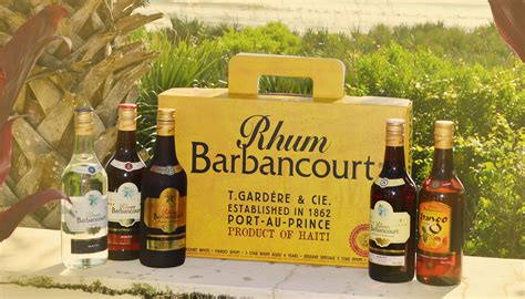 rhum cuisine rhum barbancourt 5 bottle export available for