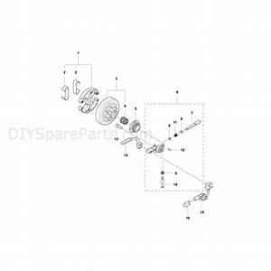Husqvarna 455 Rancher Chainsaw  2012  Parts Diagram  Clutch  U0026 Oil Pump