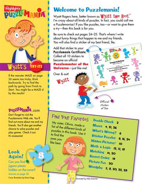 puzzle books kids puzzle books subscription puzzlemania