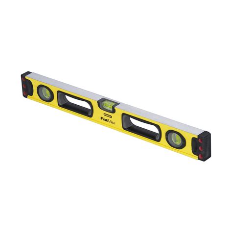 close up christmas level 7 stanley tools 43 524 fatmax non magnetic 24 in level
