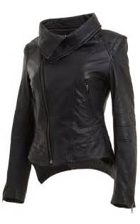 Leather Hoodie Jacket Women