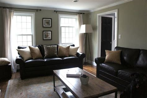 Black Leather Living Room Ideas by Decorating With Black Leather Couches My House