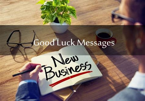 good luck messages   business entrepreneurs