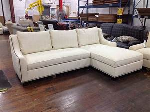 Sectionals family sized made by hickory chair for Sectional sofa hickory chair