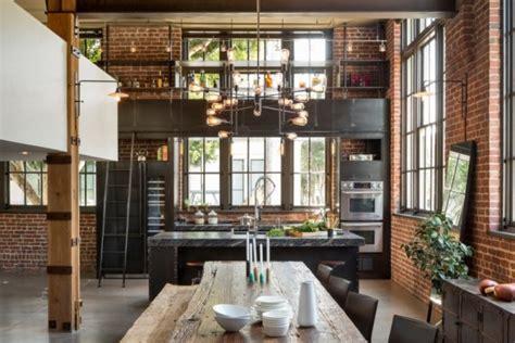 cuisine yorkaise cuisine industrielle 43 inspirations pour un style