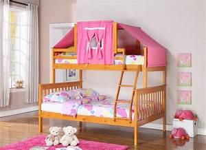Kids Room : Best Bunk Bed For Girls In White Color Sed As ...