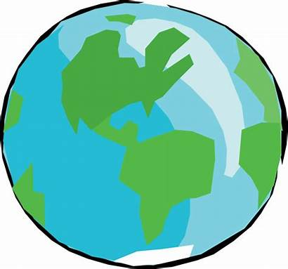 Earth Cartoon Drawing Clipart Globe Transparent Bumi