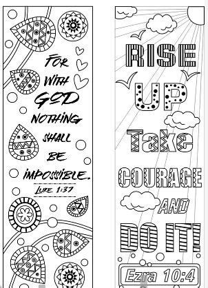 bible verse coloring bookmarks coloring pages bible