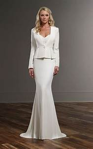 sophisticated wedding dress separates martina liana With wedding dress separates