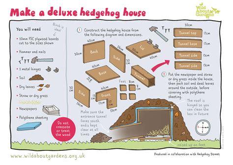 how to build a house the last hedgehog in avon avon wildlife trust