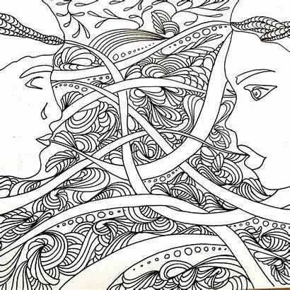 Adult Coloring Colouring Space
